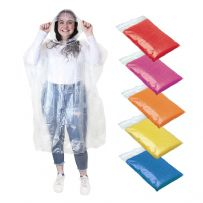 Pack of 9 Waterproof Rain Ponchos